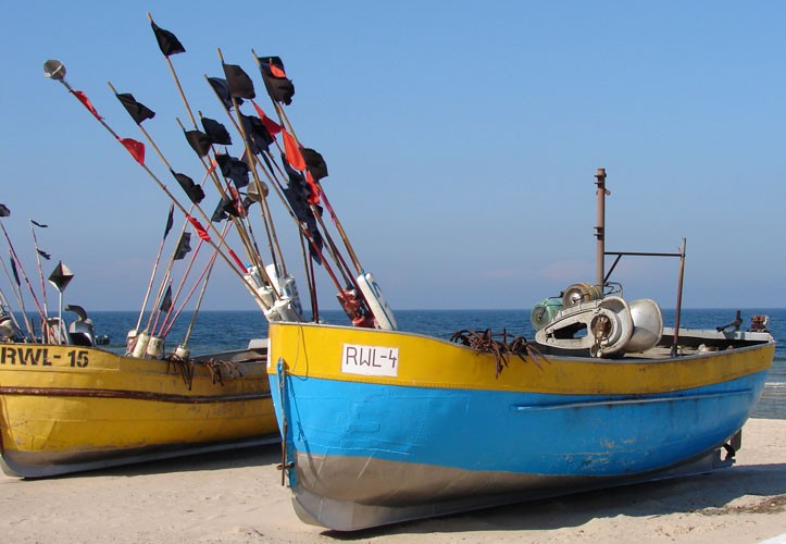 Rewal - baza rybacka
