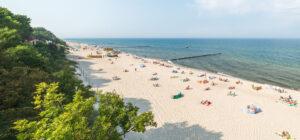 Rewal plaża Ośrodek Diament